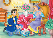 Interlitho, Nino, CUTE ANIMALS, puzzle, paintings, cinderella, prince(KL3917,#AC#) illustrations, pinturas, rompe cabeza