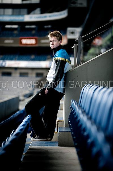Belgian football player Kevin De Bruyne (Belgium, 09/04/2012)
