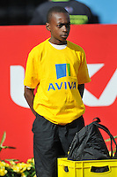 Photo: Tony Oudot/Richard Lane Photography..Aviva London Grand Prix. 24/07/2009. .Aviva kit carrier.