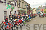 GROUP: A large crowd of bikers who supported the David Flynn Memorial Poker Run on Saturday in Listowel, were all proceeds were going to MS Ireland.... ....