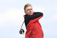 David Foy (Laytown & Bettystown) on the 10th tee during Round 4 of The East of Ireland Amateur Open Championship in Co. Louth Golf Club, Baltray on Monday 3rd June 2019.<br /> <br /> Picture:  Thos Caffrey / www.golffile.ie<br /> <br /> All photos usage must carry mandatory copyright credit (© Golffile | Thos Caffrey)