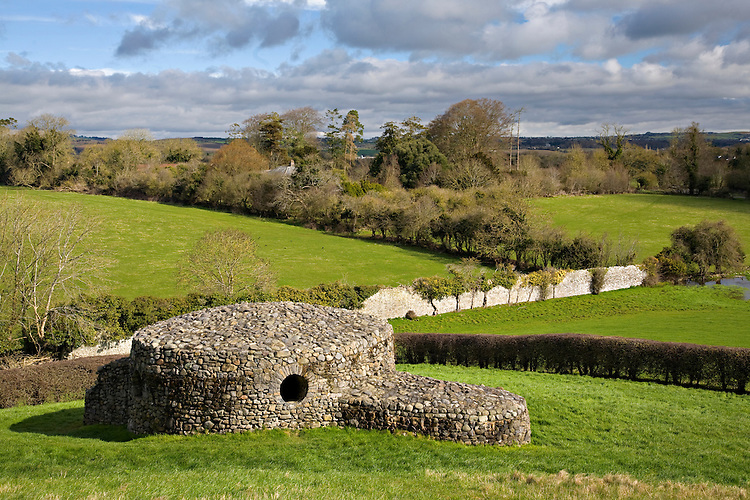 Stone ruin at Newgrange, Ireland