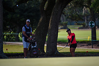 Moriya Jutanugarn (THA) chips on to 1 during round 1 of the 2019 US Women's Open, Charleston Country Club, Charleston, South Carolina,  USA. 5/30/2019.<br /> Picture: Golffile | Ken Murray<br /> <br /> All photo usage must carry mandatory copyright credit (© Golffile | Ken Murray)