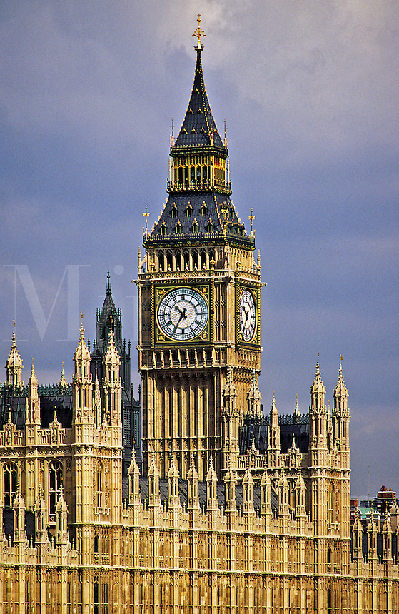 Houses of Parliament and Big Ben. London. England