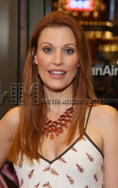 Rachel York attends the Broadway Opening Night performance of The Roundabout Theatre Company production of 'Time and The Conways'  on October 10, 2017 at the American Airlines Theatre in New York City.