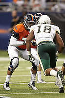 SAN ANTONIO, TX - OCTOBER 26, 2013: The University of Alabama at Birmingham Blazers versus the University of Texas at San Antonio Roadrunners Football at the Alamodome. (Photo by Jeff Huehn)