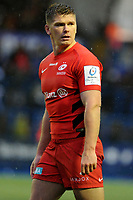 Owen Farrell of Saracens during the Heineken Champions Cup match between Cardiff Blues and Saracens at Cardiff Arms Park in Cardiff, Wales. Saturday 15 December 2018