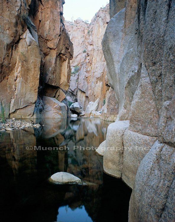 """The Jug, Salome Creek   ARIZONA"" , Salome Wilderness"