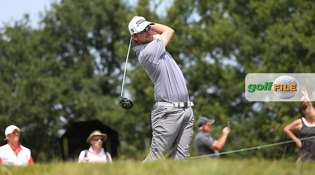 Bernd Wiesberger (AUT) in contention with a 66 during Round Three of the 2015 Alstom Open de France, played at Le Golf National, Saint-Quentin-En-Yvelines, Paris, France. /04/07/2015/. Picture: Golffile | David Lloyd<br /> <br /> All photos usage must carry mandatory copyright credit (&copy; Golffile | David Lloyd)