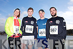 Karen Soffe, Patrick McNamara, Enda Mcgrath and Eoin Naughton at the Valentines 10 mile road race in Tralee on Saturday.