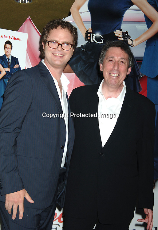 "Rainn Wilson and Ivan Reitman..at The World Premiere of "" My Super Ex-Girlfriend"" starring Uma Thurman and Luke Wilson on ..July 12, 2006 at The Clearview Chelsea 23rd Street Theatre. ..Robin Platzer, Twin Images"