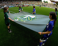 Portland Timbers vs Colorado Rapids during the MLS competition at Jeld-Wen Field, in Portland Oregon, June 11 2011.  The Colorado Rapids defeated the Portland Timbers 1-0.