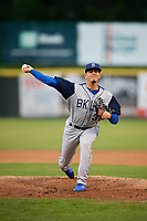 Brooklyn Cyclones starting pitcher Jose Butto (30) delivers a pitch during a game against the Tri-City ValleyCats on August 21, 2018 at Joseph L. Bruno Stadium in Troy, New York.  Tri-City defeated Brooklyn 5-2.  (Mike Janes/Four Seam Images)