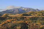 Wilson Peak (14,017 ft), autumn San Juan Mountains, Colorado.