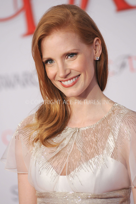 WWW.ACEPIXS.COM . . . . . .June 4, 2012...New York City....Jessica Chastain attends the 2012 CFDA Fashion Awards at Alice Tully Hall on June 4, 2012 in New York City....Please byline: KRISTIN CALLAHAN - ACEPIXS.COM.. . . . . . ..Ace Pictures, Inc: ..tel: (212) 243 8787 or (646) 769 0430..e-mail: info@acepixs.com..web: http://www.acepixs.com .