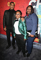 03 January 2018 - Los Angeles, California - Cory Hardrict, Shamon Brown, Guest. Showtime's &quot;The Chi&quot; Los Angeles Premiere held at Downtown Independent.     <br /> CAP/ADM/FS<br /> &copy;FS/ADM/Capital Pictures
