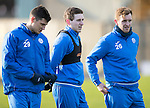 St Johnstone Training&hellip;.27.12.16<br />Blair Alston pictured in training this morning at McDiarmid Park with Graham Cummins and Liam Craig ahead of tomorrow&rsquo;s game against Rangers<br />Picture by Graeme Hart.<br />Copyright Perthshire Picture Agency<br />Tel: 01738 623350  Mobile: 07990 594431