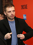 """Sebastian Stan attending the Broadway Opening Night Performance of  """"Lobby Hero"""" at The Hayes Theatre on March 26, 2018 in New York City."""