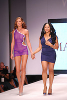 MaddSexy Lingerie-USA Designer and Model at Miami Beach International Fashion Week, Miami, FL - 2011