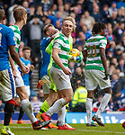 11.3.2018 Rangers v Celtic:<br /> A cup of coke splashes down