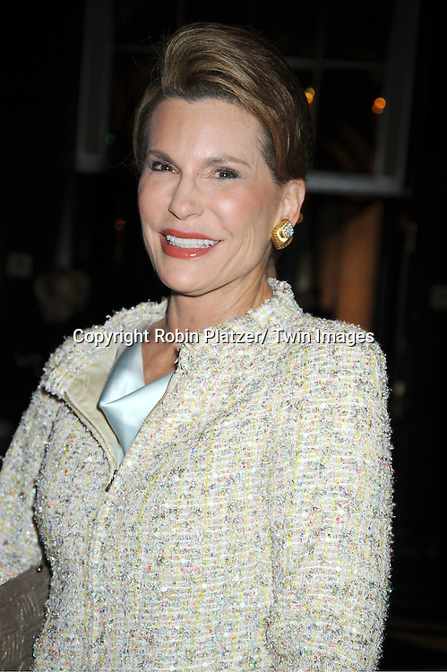 """Nancy Brinker attends the  2011 QVC Presents """"FFANY Shoes on Sale"""" Gala on October 13, 2011 at The Waldorf=Astoria Hotel in New York City. The event benefits Breast Cancer Research."""