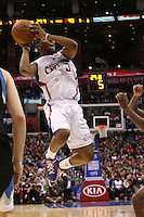 11/28/12 Los Angeles, CA: Los Angeles Clippers point guard Chris Paul #3 during an NBA game between the Los Angeles Clippers and the Minnesota Timberwolves played at Staples Center where the Clippers defeated the Timberwolves 101-95.