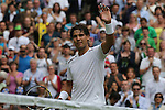 Mcc0038137 . Daily Telegraph..Wimbledon Day 2..Rafael Nadal vs Thomaz Belluci on Centre Court  at Wimbledon 2012...26 June 2012