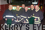 Tralee Fire Brigade, which are collecting for charity this Christmas. Pictured from left: Brian McKivergan, Maurice Griffin, Nigel Corner, Mike Collins, Mark Reale and Gareth Elbell.