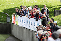 General view and spectators. National Hockey League Day One action, National Hockey Stadium, Wellington, New Zealand. Sunday 16 September 2018. Photo: Simon Watts/www.bwmedia.co.nz/Hockey NZ