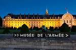 Armed forces museum, Les Invalides, Paris, Ile-de-france, France