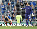 Rangers dejection Ross Perry and Neil Alexander