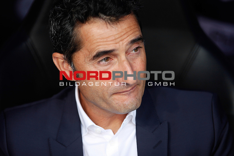 Athletic Club coach Ernesto Valverde  during La Liga Match. September 01, 2013. Foto © nph / Caro Marin)