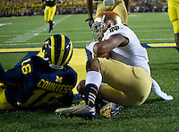 …which was caught by wide receiver TJ Jones (7) for the first Irish score.
