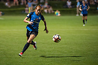 Kansas City, MO - Saturday June 17, 2017: Shea Groom during a regular season National Women's Soccer League (NWSL) match between FC Kansas City and the Seattle Reign FC at Children's Mercy Victory Field.