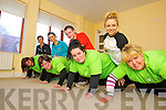 Taking part in the Operation Transformation fundraiser for Console charity are back to frontKaren Lonergan (Rahoonane, Tralee) Tracey Nelligan (Rahoonane, Tralee) Aisling Powell (Rahoonane, Tralee) and Regina O'Connor (Cois Coille, Tralee) pictured with their trainers front to back: Siobhan Sentry (Advanced Fitness Education), John Enright (Banna Leisure Centre), Caitriona Cantillon (Manor West) and Janet Slye (Manor West).