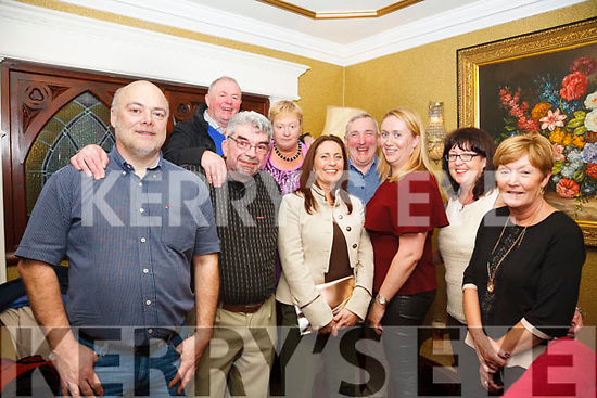 Maurice Switzer, Eilish Doyle, Liam Hartnett, Anne Clifford, Margaret O'Connor, Pat O'Donoghue, John Coffey, Geraldine Teahan, Christine Fleming celebrating Anne Clifford's special birthday at the Liquid Lounge in Killarney on Saturday night.