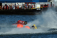 3-4 May 2008, Pickwick,TN USA.Shaun Torrente (42) takes the lead from Terry Rinker..©2008 F.Peirce Williams