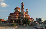 Korca/Korce-Albania - August 02, 2004---Orthodox church in the city of Korca; region/village of project implementation by GTZ-Wiram-Albania (German Technical Cooperation, Deutsche Gesellschaft fuer Technische Zusammenarbeit (GTZ) GmbH); religion-culture---Photo: Horst Wagner/eup-images