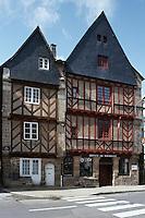 Europe/France/Bretagne/56/Morbilhan/Vannes: Maisons Anciennes rue Thiers