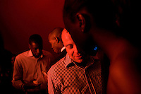 JOHANNESBURG, SOUTH AFRICA - JULY 15:  People socializing at the club Moloko in Johannesburg, South Africa.  (Photo by Landon Nordeman)