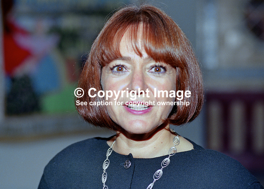 Margaret Hodge, activist, politician, Labour Party, Islington &amp; Finsbury, London, UK, 19901012MH.<br />