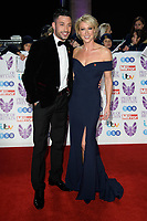 LONDON, UK. October 29, 2018: Giovanni Pernice &amp; Faye Touzer at the Pride of Britain Awards 2018 at the Grosvenor House Hotel, London.<br /> Picture: Steve Vas/Featureflash