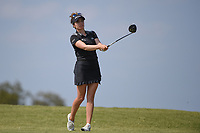 Gaby Lopez (MEX) watches her tee shot on 2 during the round 2 of the Volunteers of America Texas Classic, the Old American Golf Club, The Colony, Texas, USA. 10/4/2019.<br /> Picture: Golffile | Ken Murray<br /> <br /> <br /> All photo usage must carry mandatory copyright credit (© Golffile | Ken Murray)