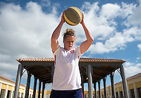 Lagos, Portugal - Februrary 24, 2015:  The USWNT trained with weights and ropes during their preparation for the Algarve Cup in Lagos, Portugal.