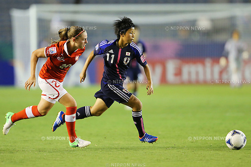 Minami Tanaka (JPN), .AUGUST 26, 2012 - Football / Soccer : .FIFA U-20 Women's World Cup Japan 2012, Group A .match between Japan 4-0 Switzerland .at National Stadium, Tokyo, Japan. .(Photo by Daiju Kitamura/AFLO SPORT)
