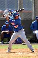 New York Mets Wilfredo Tovar #94 during a minor league spring training intrasquad game at the Port St. Lucie Training Complex on March 27, 2012 in Port St. Lucie, Florida.  (Mike Janes/Four Seam Images)
