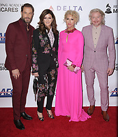 08 February 2019 - Los Angeles California - Philip Sweet, Kimberly Schlapman, Karen Fairchild, Jimi Westbrook, Little Big Town. MusiCares Person Of The Year Honoring Dolly Parton held at Los Angeles Convention Center. Photo Credit: PMA/AdMedia