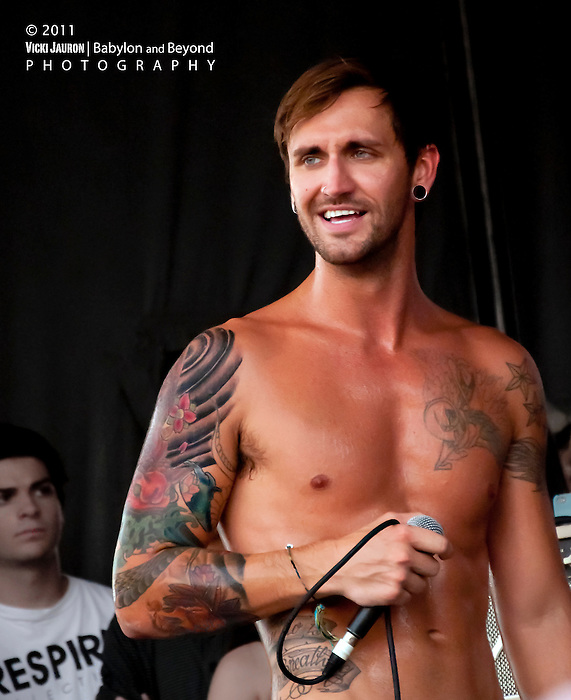 David Ryan Strauchman of Every Avenue at the Vans Warped Tour 2011 at Nassau Coliseum, Uniondale Long Island