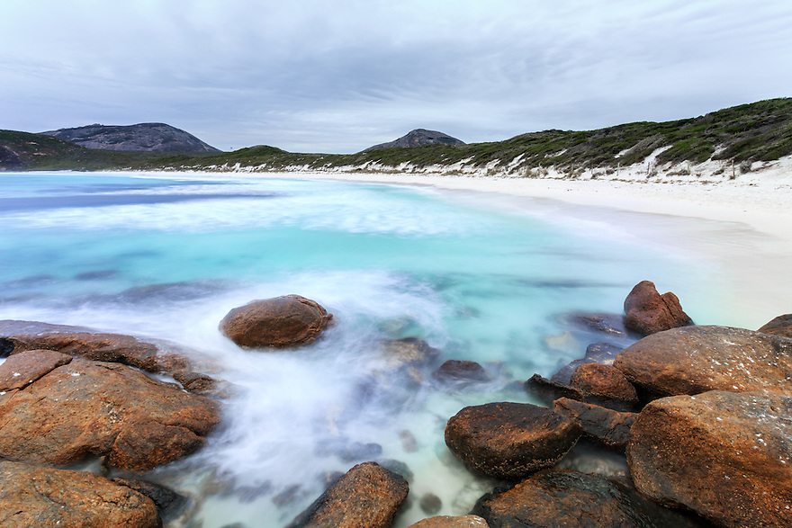 Hell Fire Bay. Cape Le Grand National Park. Esperance. Western Australia.