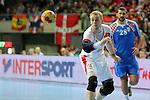 Rene Toft vs Zeljko Musa. DENMARK vs CROATIA: 30-24 - Semifinal